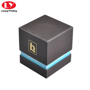 Cardboard Candle Packaging Paper Gift Box