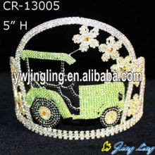 5'' Custom Holiday Car Pageant Crown