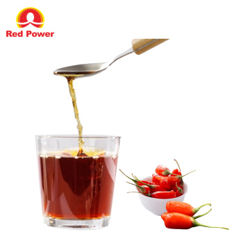 Clarified Healthy Goji Raw Juice