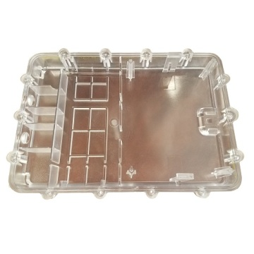 Clear PC box injection mould