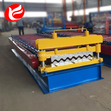 Metal roof and wall tile roll making machine
