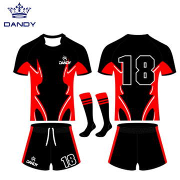 Custom rugby union jersey