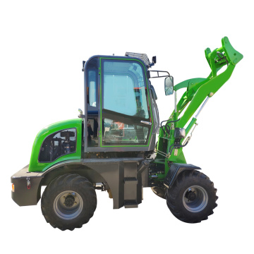 construction machinery 800kg wheel mini loader with attachments