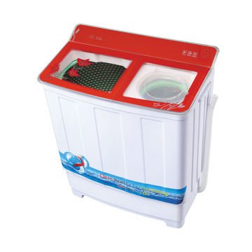 Glass Cover 7.8KG Twin Tub Washer With Dryer