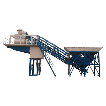Cement mixed precast yhzs25 mobile concrete batching plant