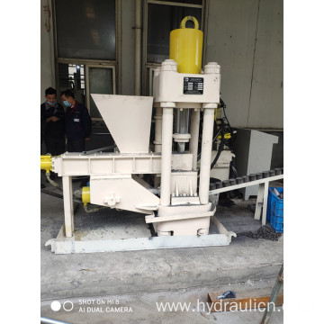 Briquetting Press for Powdered Aluminum Aluspan Chips