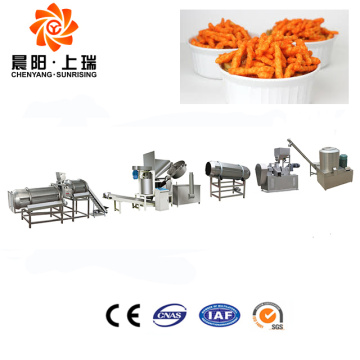 Fried kurkure snacks machine kurkure food extruder machine