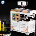 Homemade soybean oil press small business peanut hot oil press machine tea seed cold oil mill