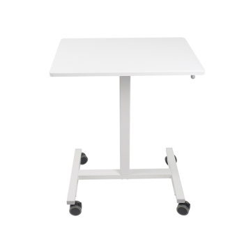 Single Column Gas Lifting Adjustable Pneumatic Standing Desk