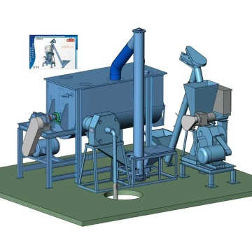 UNIT FOR LIVESTOCK PELLET FEED