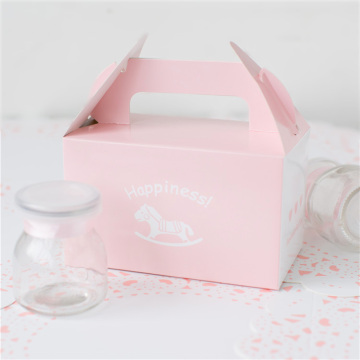 Pink bulk cupcake boxes for 2 with inserts