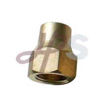 Brass flue fitting