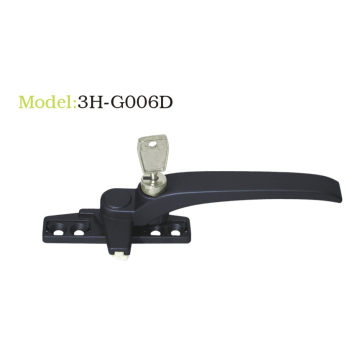 Aluminium Casement Window Handle With Key