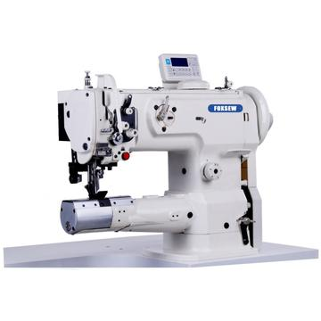 Cylinder Bed Compound Feed Lockstitch Sewing Machine with Side Cutter
