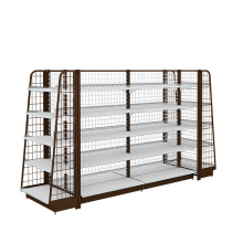 Supermarket Display Shelves With Humanized Design