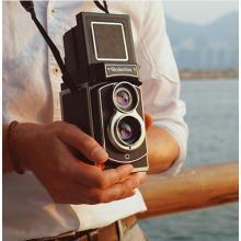 Mint Rolleiflex Instant Camera Twin-Lens Instant Camera use Fujifilm instax mini film