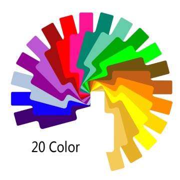 20 Colors Photographic Color Gels Filter Card Lighting Diffuser for Canon Yongnuo Flash Speedlite
