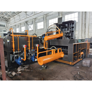 Hydraulic Waste Cooper Aluminum Steel Recycling Metal Baler
