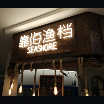 RESTAURANT NEON LIGHT SIGNBOARD