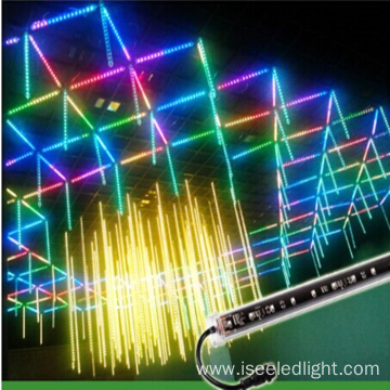 Addressable 3D DMX Vertical TUBE Light nightclub