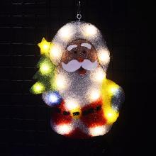 2D xmas Santa clause motif lights - 21 in. Tall navidad light bar decoration party lights outdoor luces navidad 2018