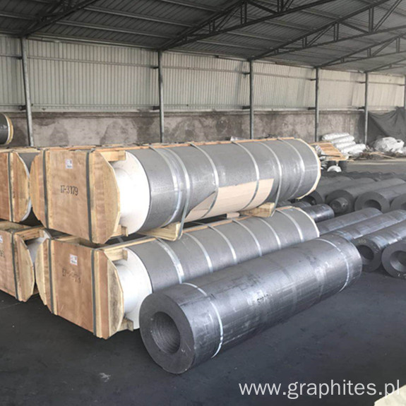 HP600MM Graphite Electrode For Iran Steel Industry