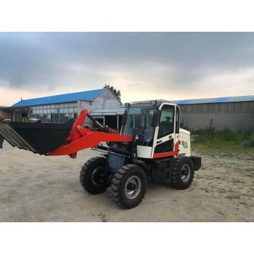 mini wheel loader with closed cab