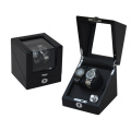 Black Watch Winder Storage 2 Watches