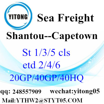 Shantou Freight Agent to Capetown