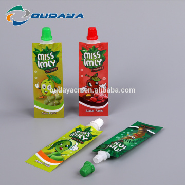 Package 8.2mm Spout Olive Paste Packaging Pouch