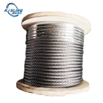 7X7 7X19 1X19 Aircraft Steel Cable