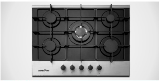 90 Cm Glass Gas Hob