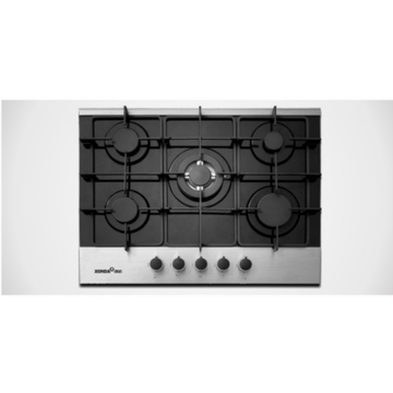 5 Burner 90 cm Glass Gas Hob