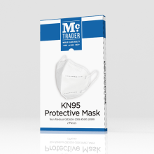 Non-Woven Earloop Anti Virus Filter N95 Mask