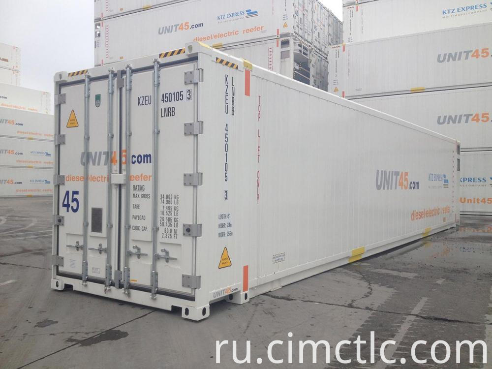 Pallet Wide Reefer Container