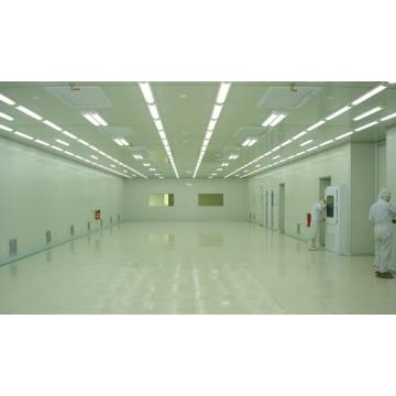 Professional clean room with HVAC