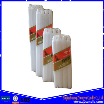 High Qulity Nigeria Temple White Candle