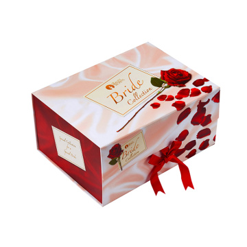 Square Handmade Wholesale Soap Boxes with Ribbon