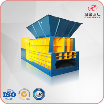 Horizontal Iron Steel Aluminum Container Type Scrap Shear