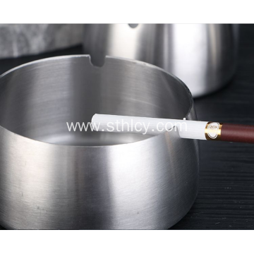 Stainless Steel European-Style Creative Household Ashtray