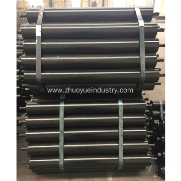 Belt Warehouse Flat Steel Conveyor Rollers