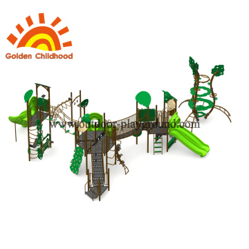Natural Tree Mix Playground Equipment For Children