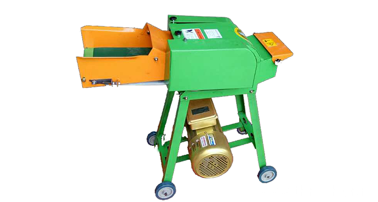 Farm Belt Mini Electronic Chaff Cutter For Feed