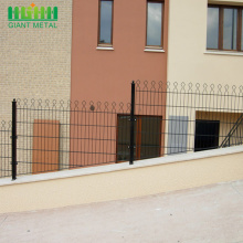 Metal Double Horizontal Wire PVC Coated Prestige Fence