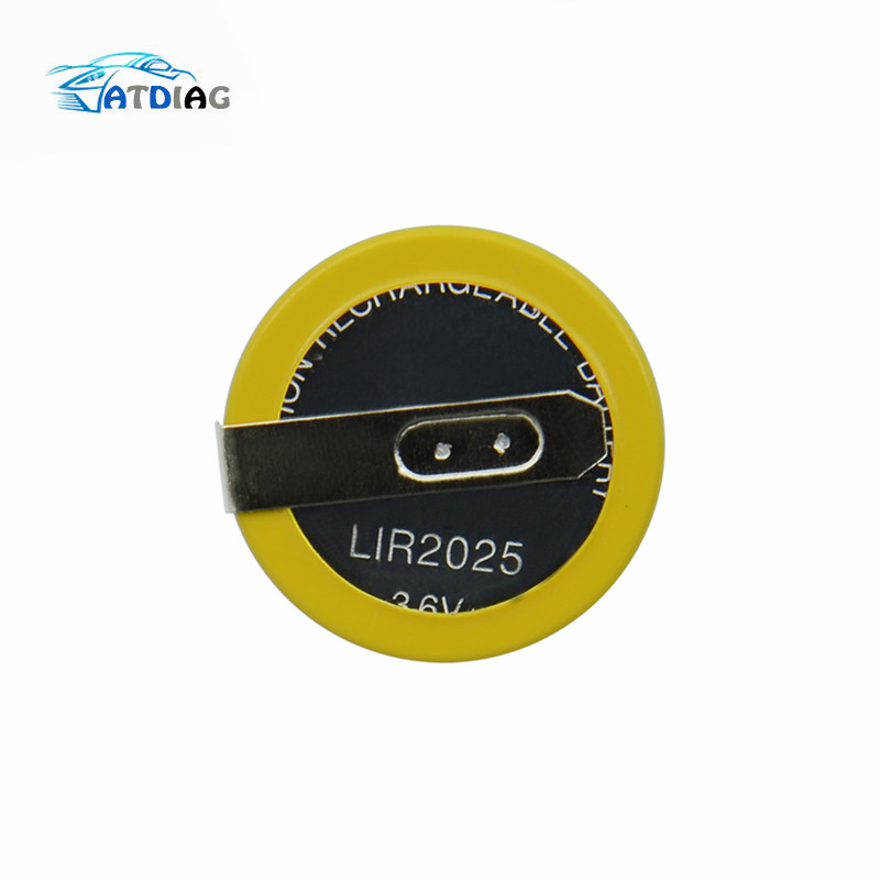 New 3.6V LIR2025 Rechargeable Battery Free Shipping For BMW 3 5 Series E46 E39 Remote Key Battery