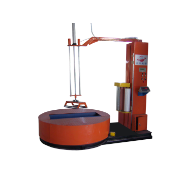 Pallet cocoon wrapping machine for paper roll