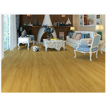 Yellowish-brown hickory Stone Plastic Floor
