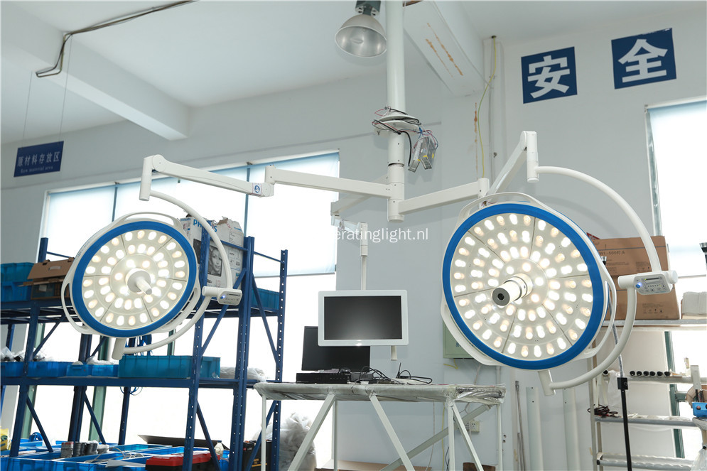 1200mm lighting depth double heads surgical lamps