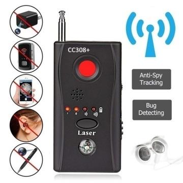 Multi-Function Wireless Camera Lens Signal Detector CC308+ GPS Bug Signal Detect Camera Full-range WiFi RF GSM Device Finder
