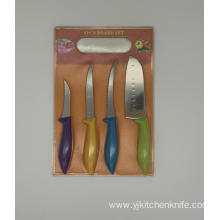 5pcs PP handle knife board set